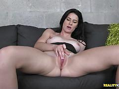 Cock craving kymberlee anne rides big dick