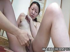 Jav milf wet pussy filled with cream