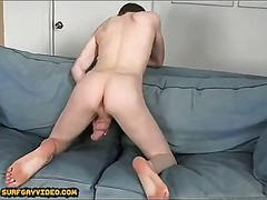 Solo boy big cock cum