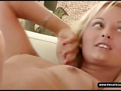 Sexy private lesbian casting's couch