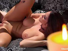 Busty alison tyler rides this hard cock