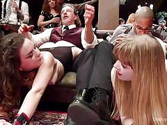 anal, bdsm, strap on, stockings, double penetration, babes, big dick, sex slaves, rope bondage, the upper floor, kink, dolly leigh, mickey mod, juliette march