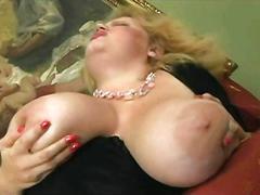 He filled his big boobs bbw stepmom with cum