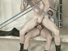 Damien crosse jackhammers dario becks sweet little ass