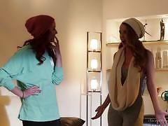 Strap on babes sn 2 hot sex with elle alexandra and dillion harper