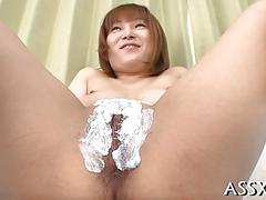 Wild anal sex for cute asian schoolgirl video