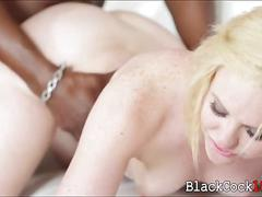 Short blonde hair miley may interracial sex on the couch