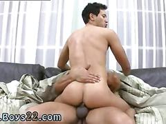 Blasting that ass with his black hard cock