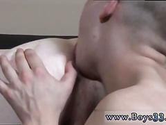 Sexy twink banging his little friends hot ass doggy style