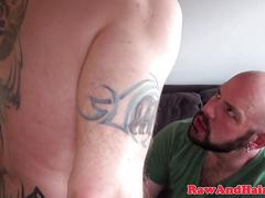 Chubbybear barebacking tight hairy asshole