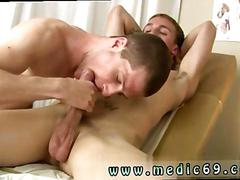 Hospital medic sucking off a twinks hard cock