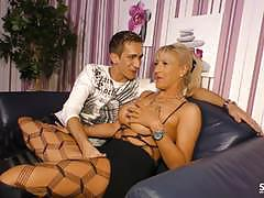Sextapegermany - german sex tape with mature blonde