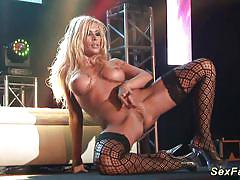 milf, blonde, dance, stepmom, public, stripping, striptease, masturbation, dildo, sex show, stage, venus, bigbreast, sexfair, silicon tits, extreme movie pass