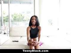 Teenyblack - luscious ebony porn audition