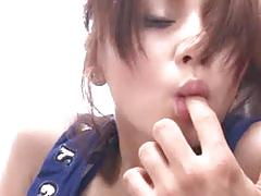 Ameri ichinose delights with more hard cocks in her wet minge