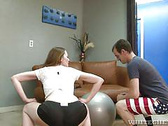 small tits, milf, handjob, blowjob, fitness, ball sucking, white ghetto, fame digital, chad diamond, scarlett fay
