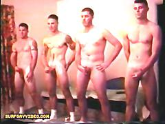Group muscle str8 marines