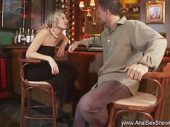 Wild pickup sex in the bar