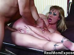 Realmomexposed hot tattoo mom gets banged
