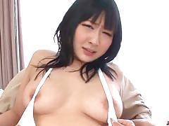 Sweet toy action along sensual asian babe, megumi haruka