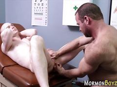 Gay mormon cum soaked