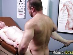 Gay mormon cum soaked