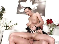 roxy taggart, brunette, blowjob, doggystyle, reverse cowgirl, shaved pussy, rider, ride, sucking, rides