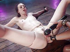 Lesbian fisting and electro bdsm