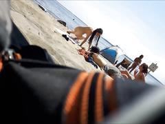 Voyeur teens on oka nude beach