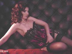Jeny smith sexy lingerie catalog photo shootings