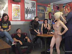 Nora barcelona was humiliated during sex-party