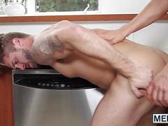 Wesley woods is hungry for his friends husbands huge dick