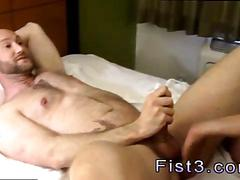 Ass fisted but the dude actually loves it