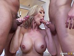 Cock loving blonde brandi love