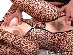 Leopardskin asian hammered