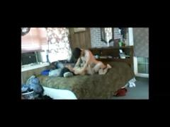 Wife fucked by young boy on hidden cam