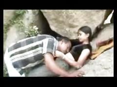 Desi outdoor couple
