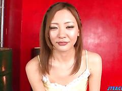 Pov blowjob porn xxx with hot mio