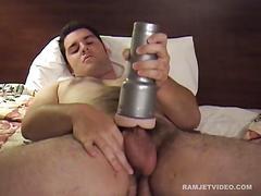 Amateur shawn sex toy jerk off
