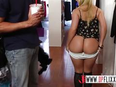 Digital playground- sales lady with big ass has public sex