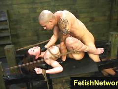 Fetishnetwork kylie rogue big clit bound