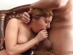 Nasty blonde fucked with big  cock in her ass