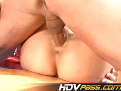Big tit blonde babe francesca felluci sex in boxring