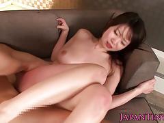 Petite japanese babe hammered