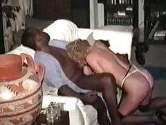 Classic swinger wife loves black dick