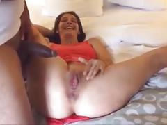 Hubby films hot cuckold wife with bbc