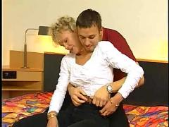 German hairy mature blonde troia