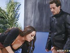 milf, student, big tits, teacher, seduction, school, blowjob, pussy licking, brunette, on table, big tits at school, brazzers, anissa kate