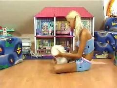 blondes, masturbation, stockings