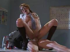 Schoolgirl jayden lee hardcore fuck with her prof